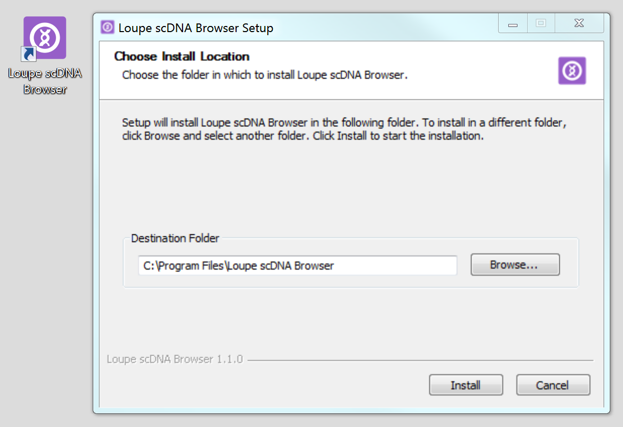 Installation: Loupe scDNA Browser - Software - Single Cell